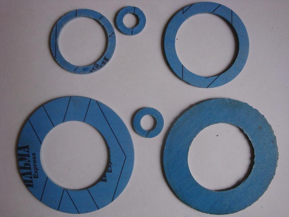 Прокладки безасбестовые различных диаметров