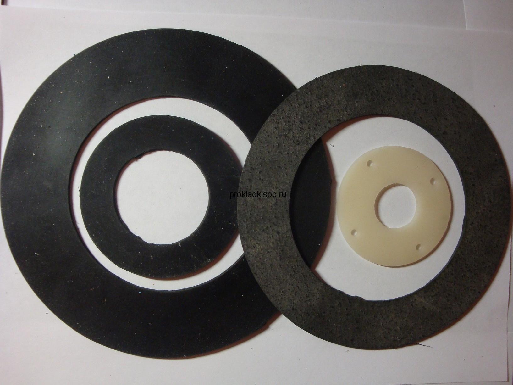 Изготовление прокладок из резины различных марок