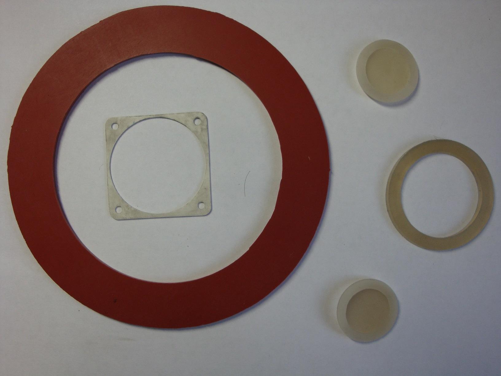 Прокладки силиконовые
