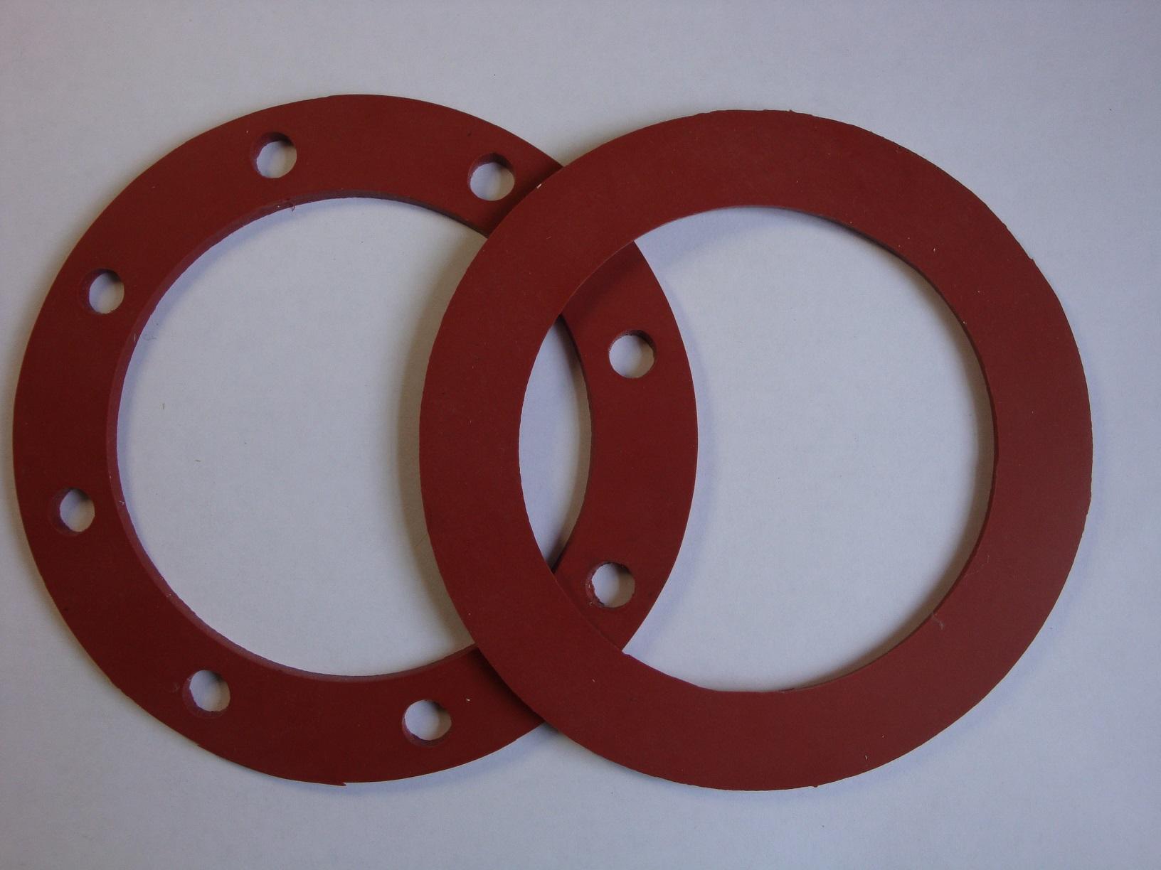Прокладки силиконовые термостойкие