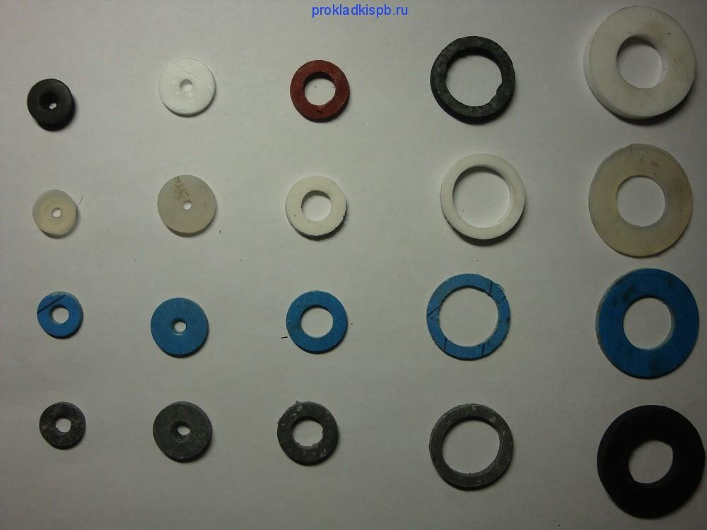 Изготовление прокладок различного диаметра из уплотнительных материалов